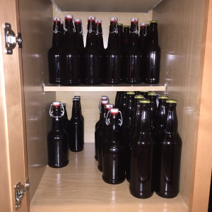 bottled home brew